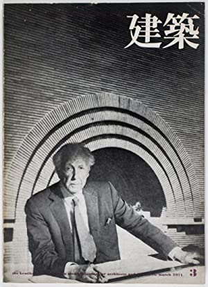 The Kentiku: A Monthly Journal for Architects and Designers, No. 126, 1971-3 (March) Frank Lloyd ...