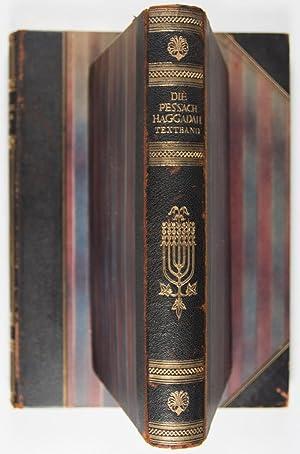 Die Darmstädter Pessach-Haggadah, codex orientalis 8 der Landesbibliothek zu Darmstadt aus dem...