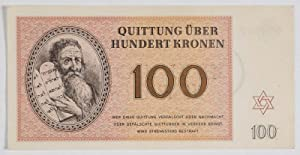 Complete currency set in use at the concentration camp of Theresienstadt (1, 2, 5, 10, 20, 50 and ...