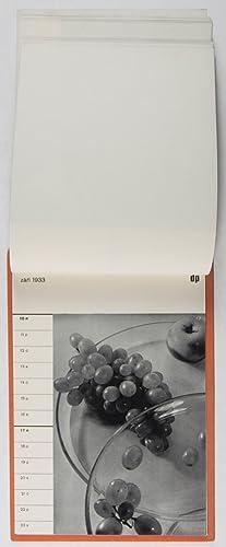 Kalendá Dru?stevní práce 1933: Sudek, Josef (Photographs by)
