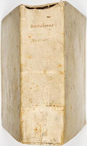 Anatome Quartum Renovata. Non Tantum ex Institutionibus b.m. Parentis, Caspari Bartholini, Sed ...