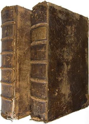 Biblia Sacra Vulgatae Editionis, Sixti V. Pontificis Max. Recognita. locupletibus SS. patrum et ...