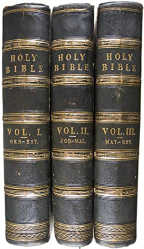 The Holy Bible, containing the Old and New Testaments, according to the Authorised Version. With ...