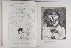 Picasso Lithographe: Notices et Catalogue III, 1949-1956 [WITH TWO ORIGINAL LITHOGRAPHS]: Mourlot, ...