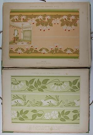 Peinture d'Art Nouveau, Décorations Murales et Plafonds. 3e Série: Mulier, ...