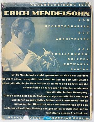 Erich Mendelsohn: Das Gesamtschaffen des Architekten - Skizzen, Entwürfe, Bauten: Köster, Arthur (...