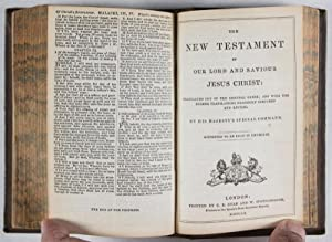 The Holy Bible, Containing the Old and New Testaments: Translated Out of the Original Tongue; and ...