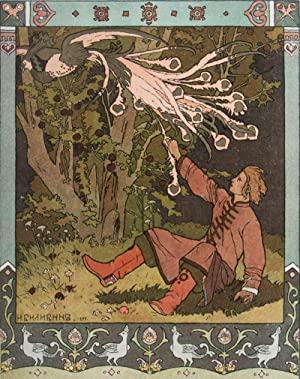 The Tale of Ivan Tsarevich, the Firebird and the Grey Wolf ): Bilibin, Ivan Yakovlevich ( )
