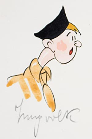 Original Third Reich-era artwork caricaturing various Nazi organizations: Hohenester, Albert (...
