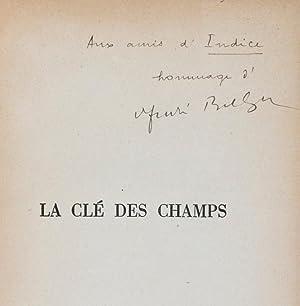 La Clé des Champs [INSCRIBED & SIGNED: Breton, André; Miró