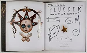 The Plucker [INSCRIBED]: BROM (written and illustrated by)