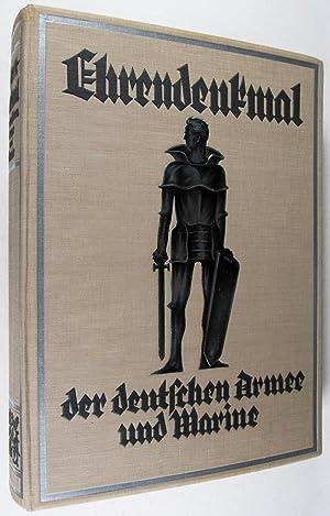 Ehrendenkmal der Deutschen Armee und Marine 1871-1918: Eisenhart-Rothe, Ernst von