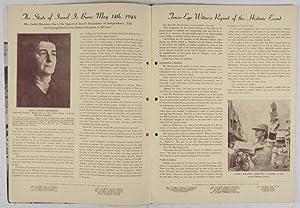 Israel On The March: Twenty First Anniversary November 21, 1948 [SIGNED]: Neaderland, Herman (ed.)