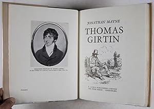 Thomas Girtin: Mayne, Jonathan
