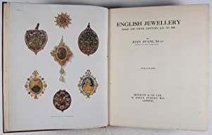 English Jewellery: From the Fifth Century A. D. to 1800: Evans, Joan