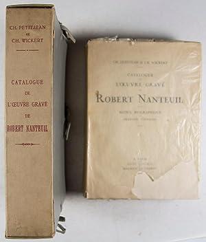 Catalogue de l'Oeuvre Gravé de Robert Nanteuil. 2-vol. set (Complete): Petitjean, Ch.; ...