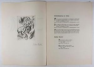 Jayadeva: Indische Liebeslieder mit einer Originalradierung von Arno Nadel [SIGNED]: Lichten, ...
