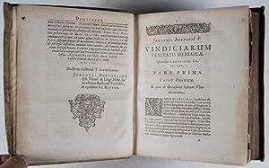 Anticritica: seu Vindiciae Veritatis Hebraicae: Adversus Ludovici Cappelli Criticam quam vocat ...