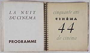 Cinéma 1944: Cinquante Ans de Cinéma [WITH 5 ORIGINAL LITHOGRAPHS]: Comité ...