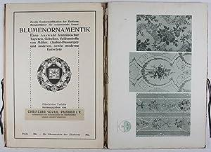 Blumenornamentik: Eine Auswahl französischer Tapeten, Gobelins, Seidenstoffe von Müller, ...