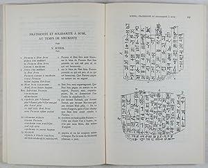Symbolae ad iura orientis antiqui pertinentes Paulo Koschaker dedicatae [Studia et documenta ad ...