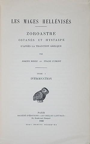 Les Mages Hellénisés: Zoroastre, Ostanès et Hystaspe d'après la ...