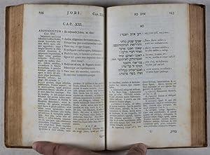 Liber Jobi in versiculos metrice divisus cum versione latina Alberti Schultens, notisque ex ejus ...