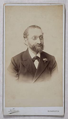 Cabinet Card of Szymon Winawer (Photograph): Ferencz, Kosmata (Photographer)
