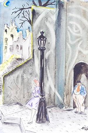5 Zeitgedichte illustriert von Eric. [SIGNED]: Bodlander, Eric (Illustrator)