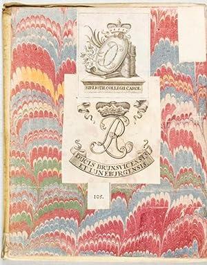 De Legibus Hebraeorum Ritualibus et earum Rationibus. Libri Tres. Editio Tertia: Spencero, Ioanne (...