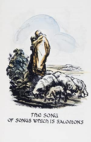 The Song of Songs which is Salomons. [SIGNED]: Busoni, Rafaello (Illustrator)