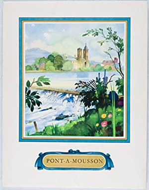 Pont à Mousson: Selz, Jean (Text); Claude Franjus, Roger Hatier, Robert Durandaud (Photographers); ...
