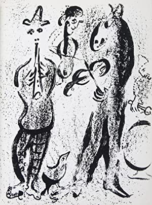 The Lithographs of Chagall. 6-vol. set [Complete: Cain, Julien (Text