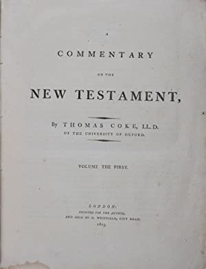 A Commentary on the New Testament. 2-vol. set (Complete)