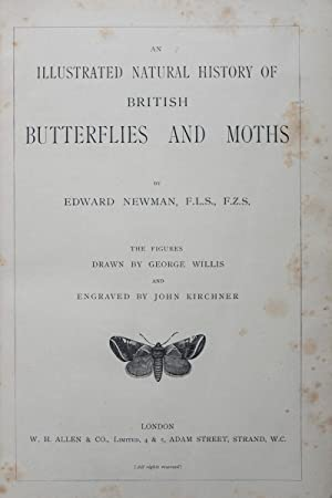 An Illustrated Natural History of British Butterflies and Moths