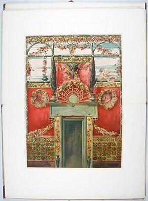 Naturalistische Decorationsmalereien: Seder, Anton; Ernst Wasmuth (Vorwort)