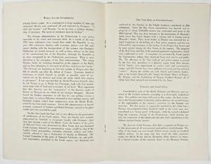 The Nazi Rule in Czechoslovakia: Kybal, Milic Dr
