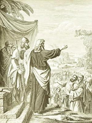 Illustrirte Pracht Bibel für Israeliten in dem masoretischen Text und neuer deutscher ...