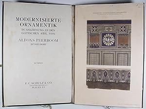 Modernisierte Ornamentik in Anlehnung and den gotischen Stil: Peerboom, Alfons
