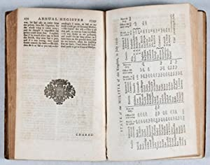 The Annual Register, or a View of the History, Politicks, and Literature, of the Year 1759: Burke, ...
