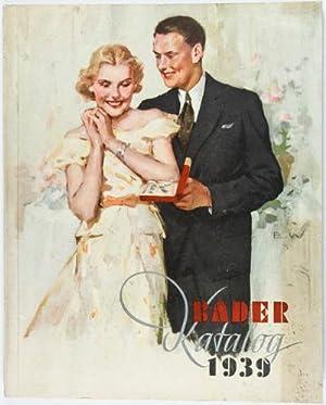 Bader Katalog 1939 (with original typewritten letters and various company ephemera): Bader, Bruno (...