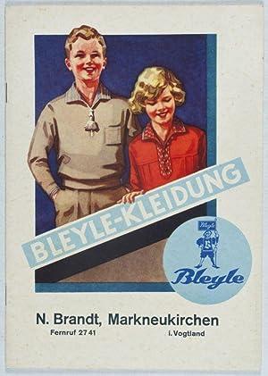 Bleyle-Kleidung (Bleyle-Katalog Nr. 46): Bleyle, Wilhelm