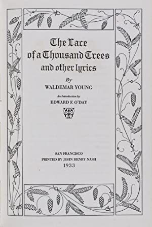 The Lace of a Thousand Trees and: Young, Waldemar (Text);