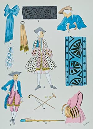 Histoire du Costume Masculin Français de l'an 420 à l'an 1870: Giafferri, ...