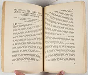 Agudistische Schriften. Herausgegeben von der deutschen Landesorganisation der Agudas Jisroel: ...