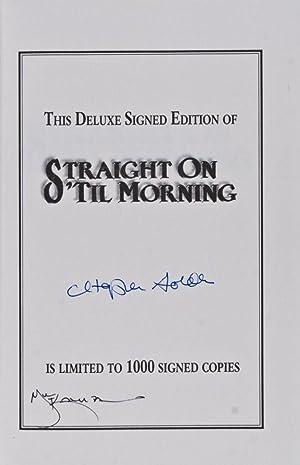 Straight On 'til Morning [SIGNED BY GOLDEN AND KALUTA]: Golden, Christopher