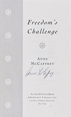 Freedom's Challenge [SIGNED BY AUTHOR]: McCaffrey, Anne