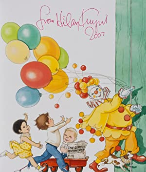 The Circus is Coming. [SIGNED BY THE ILLUSTRATOR]: Knight, Hilary