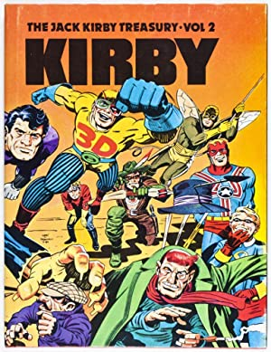 The Jack Kirby Treasury. Kirby. Vol 2: Theakston, Greg (Text)