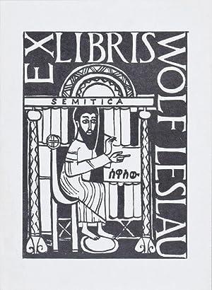 Grammatica Elementare della Lingua Amarica [FROM THE PERSONAL LIBRARY OF WOLF LESLAU]: Guidi, ...